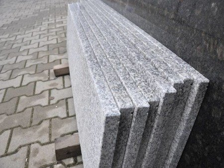 Bianco Crystal G603 - Parapet granitowy
