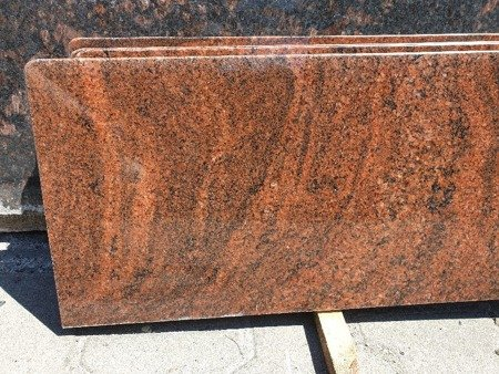 Multicolor Red - Parapet granitowy